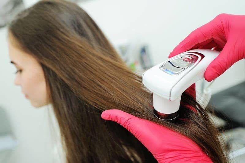 диагностика волос и кожи головы
