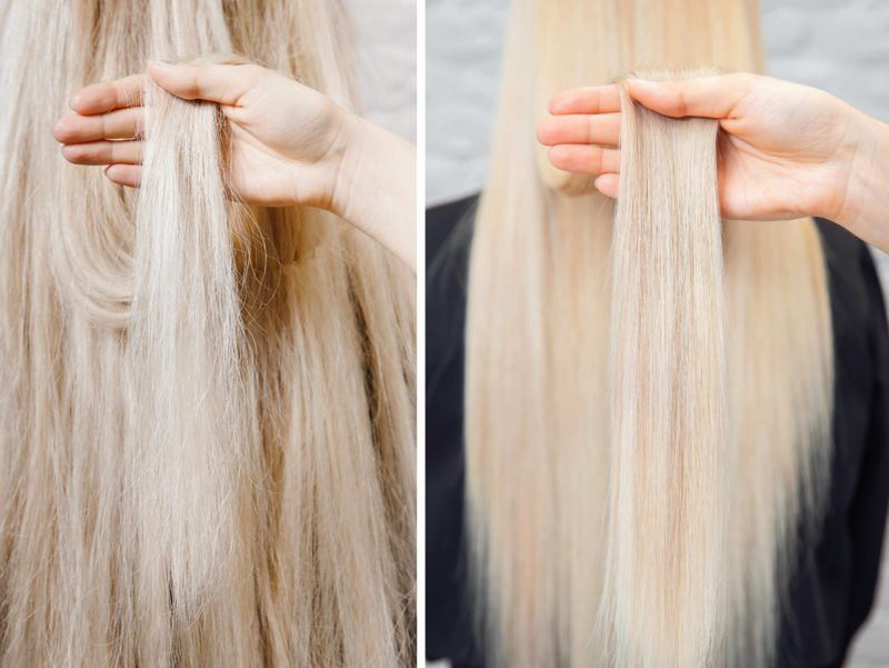 процедура для волосся в салонах Ніка та Африка