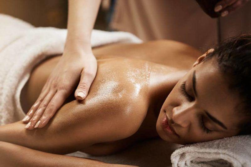 общий массаж тела