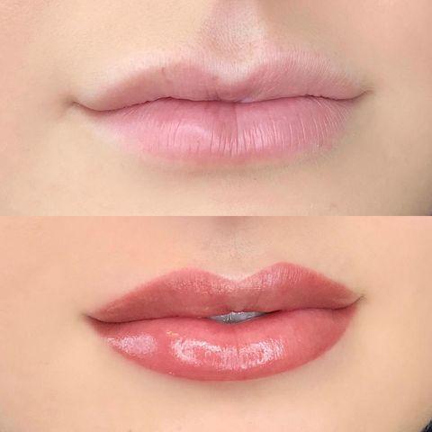 акварельные губы цена